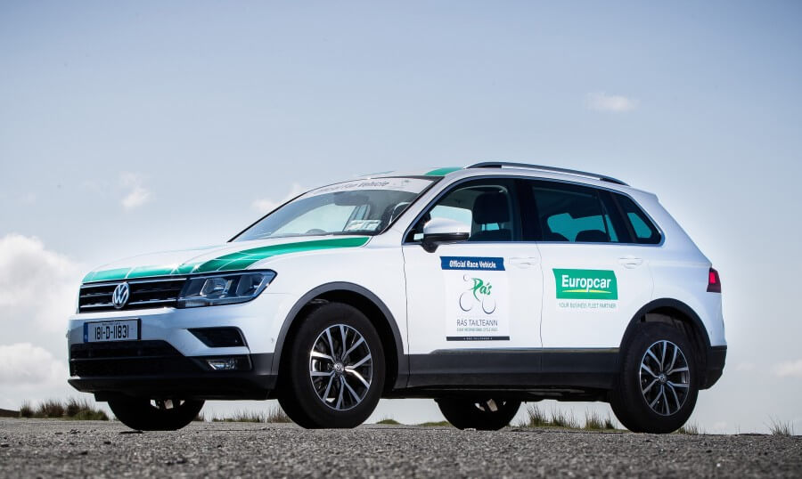 Europcar Buisness Fleet branded vehicles