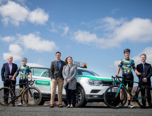 Irish cyclists laud Europcar Business Fleet Services' partnership with 2018 Rás
