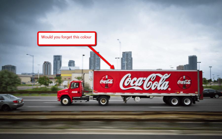 branded truck