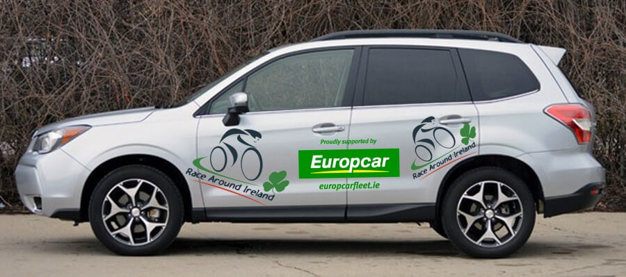 europcar business fleet branded vehicle